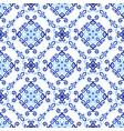 blue background royal weave pattern vector image vector image