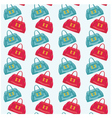 seamless bags pattern vector image vector image