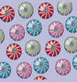 sweet candies icon pattern vector image vector image