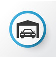 garage icon symbol premium quality isolated vector image