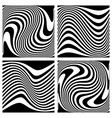 lines textures vector image vector image