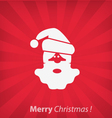 Santa Claus Christmas icon vector image