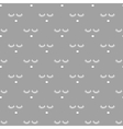 Sleepy face gray seamless pattern vector image vector image