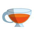 tea beverage icon image vector image vector image