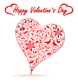 valentines day heart vector image