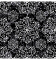 Black seamless mandala vector | Price: 1 Credit (USD $1)