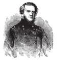 general john g foster vintage vector image vector image