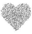 love i love you always and forever vector image vector image
