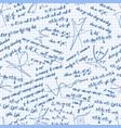 Mathematics seamless pattern