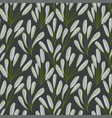 modern seamless pattern with wild floral elements vector image vector image