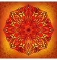 Oriental traditional ornament vector image vector image