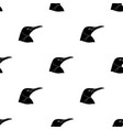penguin icon in black style isolated on white vector image vector image