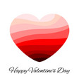 romantic love symbol of valentine day vector image vector image