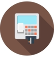 ATM card vector image