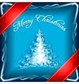 christmas gift vector image vector image