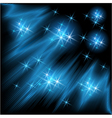 Rays and stars vector image vector image