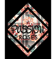 Roses passion vector image vector image
