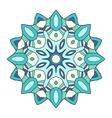 circular decorative ornament arabic pattern vector image