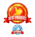 Best Product Awards vector image vector image
