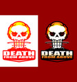 death from above insignia style 2 versions vector image vector image
