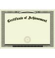 vector blank certificate background vector image vector image