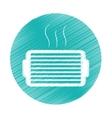 ventilation grill icon vector image