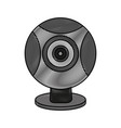 webcam pc technology vector image vector image