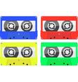 Retro Music Cassette vector image