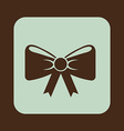 bow-tie design vector image