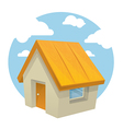 cartoon home vector image vector image