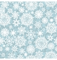 Christmas seamless pattern snowflake EPS 10 vector image vector image