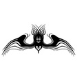 Fantasy monster with wings Tattoo Isolated vector image
