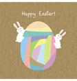 Happy Easter9 vector image vector image