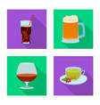 isolated object drink and bar symbol vector image