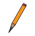 isolated pencil icon vector image