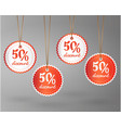 offer sale price tag discount vector image vector image