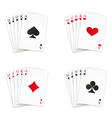 Royal straight flush set vector | Price: 1 Credit (USD $1)
