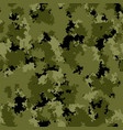 seamless pattern with forest camouflage colors vector image vector image