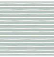 Seamless striped pattern with hand painted brush vector image vector image