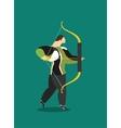Sport archery vector image