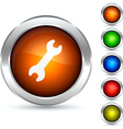 Tool button vector image