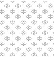 unique digital bees seamless pattern with various vector image