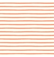 Seamless striped pattern with hand painted brush vector image