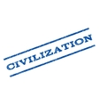 Civilization Watermark Stamp vector image vector image