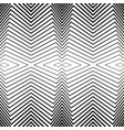 seamless black and white pattern stripes vector image vector image