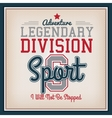 Sport Badge Template vector image vector image