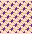 trendy purple stars ornamental seamless vector image vector image