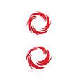 vortex icon design vector image vector image
