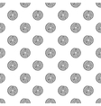 Tree ring pattern simple style vector image