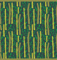 bamboo stems tree texture in ethnic style vector image